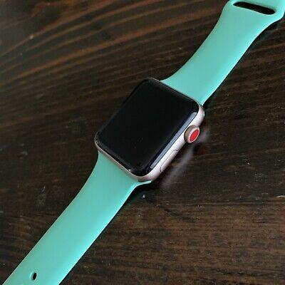 Apple Watch Series 3 42mm Gold Aluminium Case LTE (GPS + Cellular)