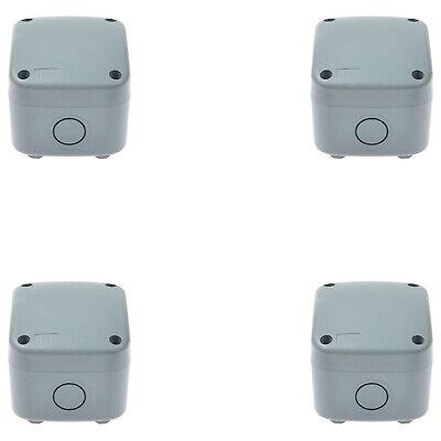 4 Pack Waterproof Enclosure Case Power Junction Box Weatherproof Juntion Box