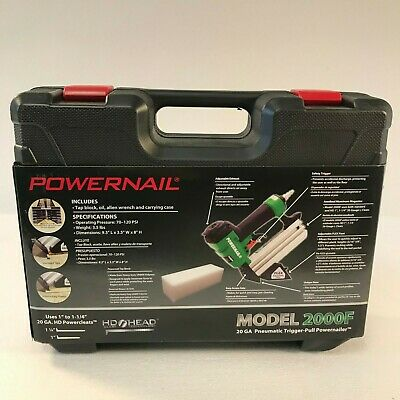 Powernail Pneumatic 20-gauge Hardwood Flooring Trigger Pull Cleat Nailer Kit