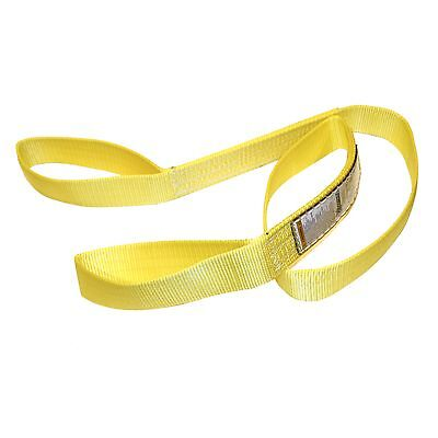 Tuff Tag 2 X 8 Ft Nylon Web Lifting Sling Tow Strap 1 Ply Ee1-902 Eye Eye
