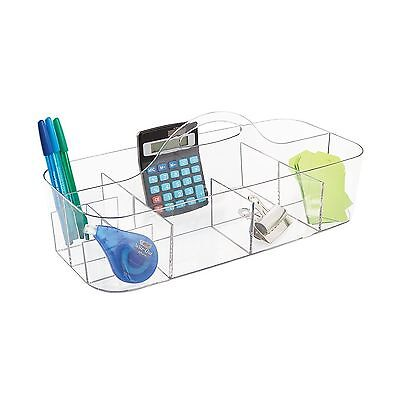 mdesign office supplies desk organizer tote