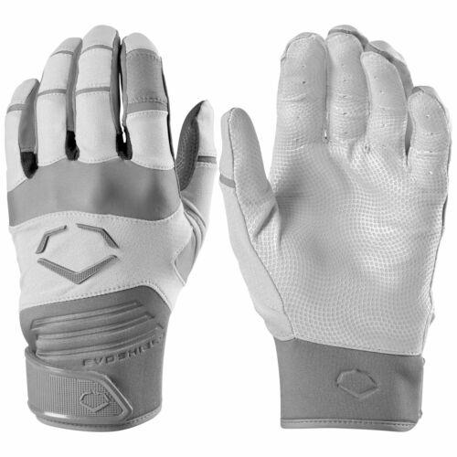 NEW Evoshield Aggressor Batting Gloves Pair Youth - White  Size : Small