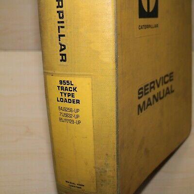 Cat Caterpillar 955l Track Crawler Loader Repair Shop Service Manual Maintenance