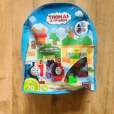 NEW Mega Bloks Thomas & Friends Thomas Sodor Adventures Building Blocks Bag Set