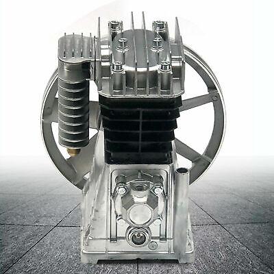 2hp Twin Cylinder Air Compressor Pump Motor Head Air Tool Piston Type 1500w New