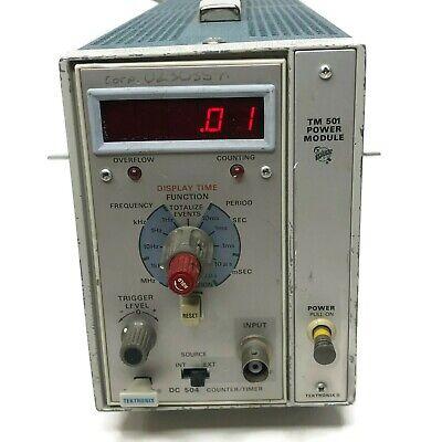 Tektronix Tm 501 Power Module W Pg504 Countertimer