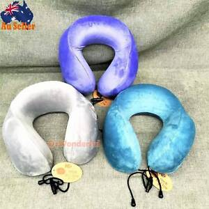 Memory Foam U-shape Pillow Neck Support Car Flight Headrest Epping Whittlesea Area Preview