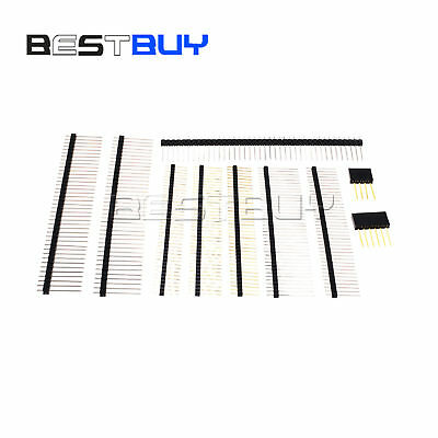 Pin Header 4640pin 2.02.54mm 11-20mm Single Row Malefemale Breakable Bbc