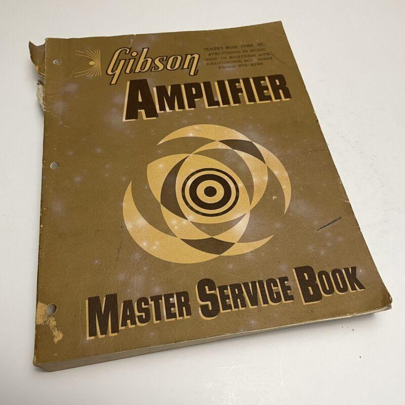 Gibson Amplifier Master Service Book Manual