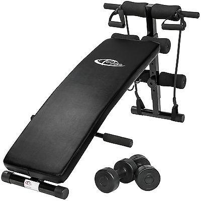 Banc de musculation abdominaux appareil de fitness sport pliable pour muscles