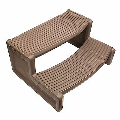 Confer Plastics HS2 Portabello Resin Handi-Step For Spa and Hot Tubs
