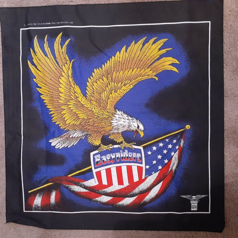 Licensed Harley - Davidson Bandana / Kerchief  Style 14