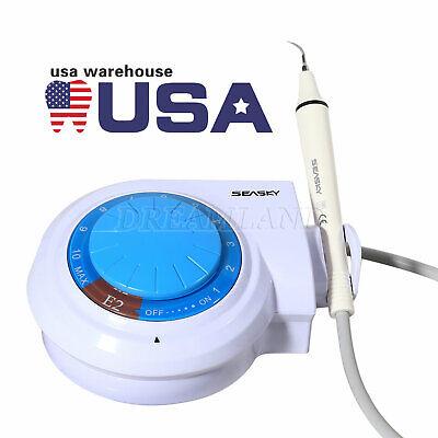 Seasky Dental Ultrasonic Scaler Handpiece 5 Tips Fit Ems Woodpecker Usps Ship