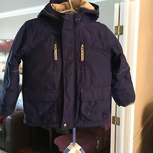 Boys Lands End 4 in 1 Expedition Parka Size 5/6