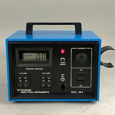 Teledyne Analytical Instruments 354 Percent Oxygen Analyzer Wo Sensor