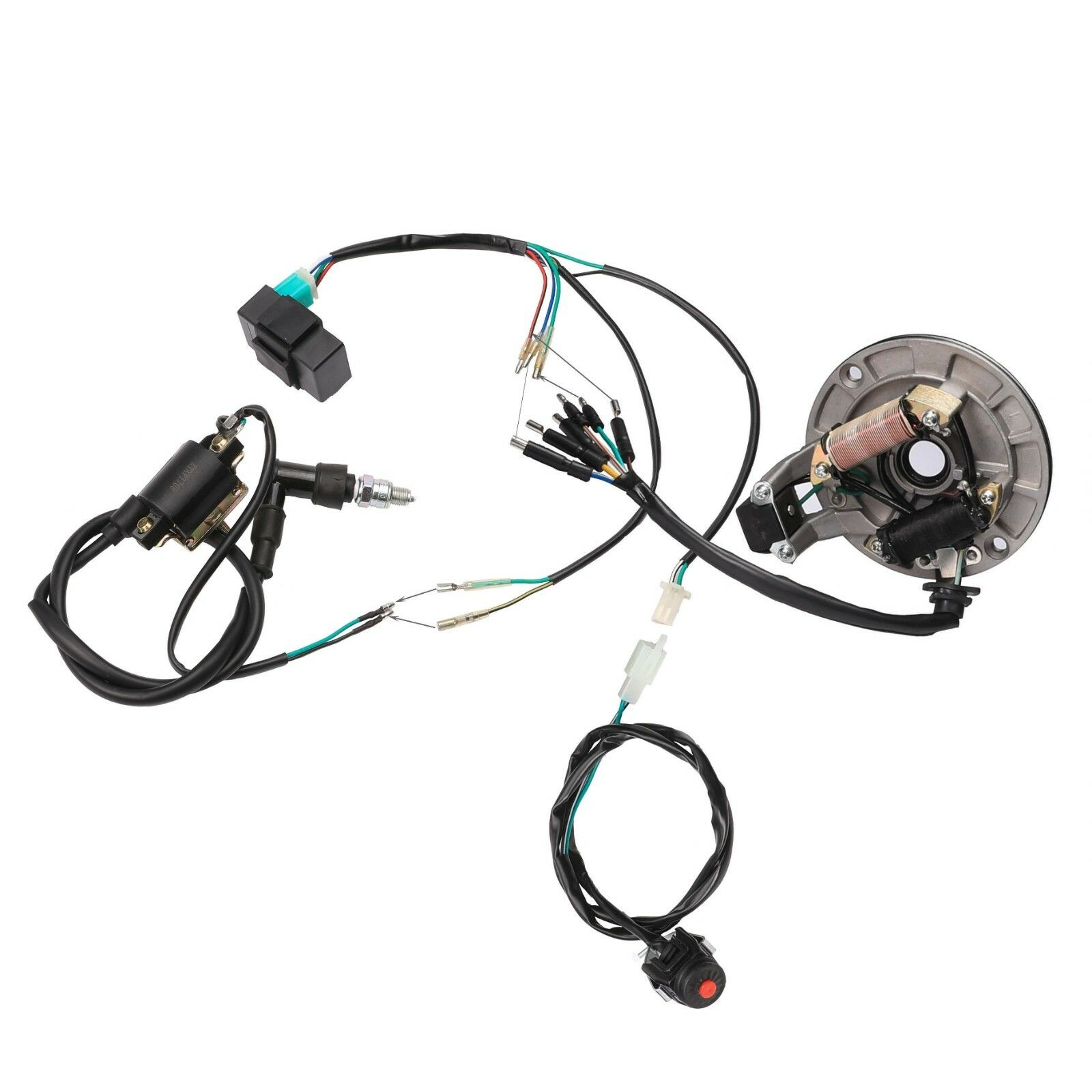 4 Stroke Dirt Bike Electric Engine Wiring Harness For