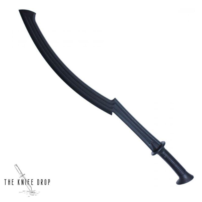 """PRACTICE BLACK Egyptian Khopesh sword 32.5"""" PLASTIC POLYPROPYLENE"""