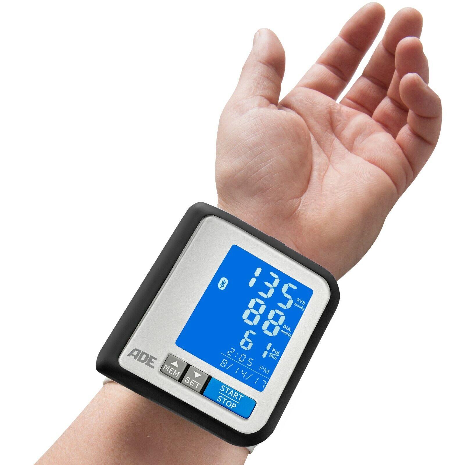 ADE Blutdruckmessgerät Handgelenk Bluetooth | Blutdruckmesser | Pulsmessung OVP