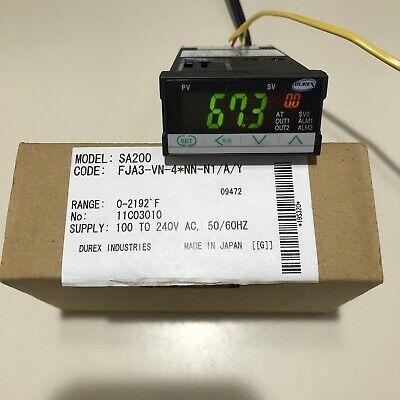 Rkc Instruments Model Sa200 132 Din Digital Temperature Controller