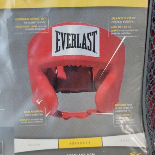 Everlast Boxing Advanced Everhide Training Headgear Boxing, MMA, Combat