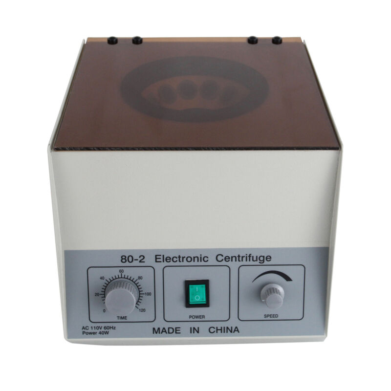 4000rpm 20ml x12 Electric Lower Speed Centrifuge Machine Medical Lab Practice