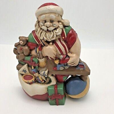 Midwest Cannon Falls Cast Iron Doorstop Santa Workshop Toyshop Christmas ()