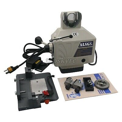 Alsgs 110v Power Feed Feeders For Vertical Milling Machine X Y Axis Al-310sx Us