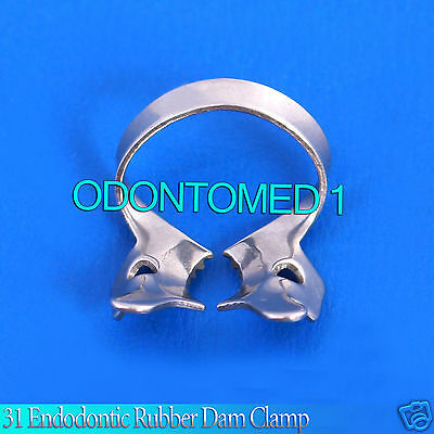31 Endodontic Rubber Dam Clamp Dental Instruments Endo