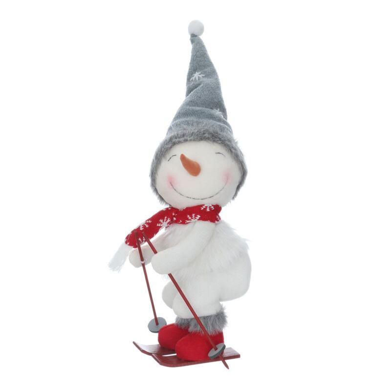 Novelty+Skiing+Christmas+Festive++Plush+Snowman+Home+Decoration+40cm