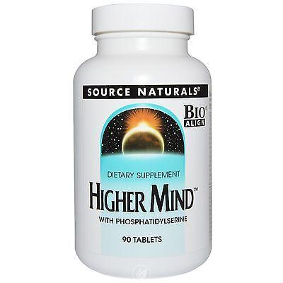 Source Naturals Higher Mind™ w/Phosphatidyl Serine Bio-Aligned™ 90 tab