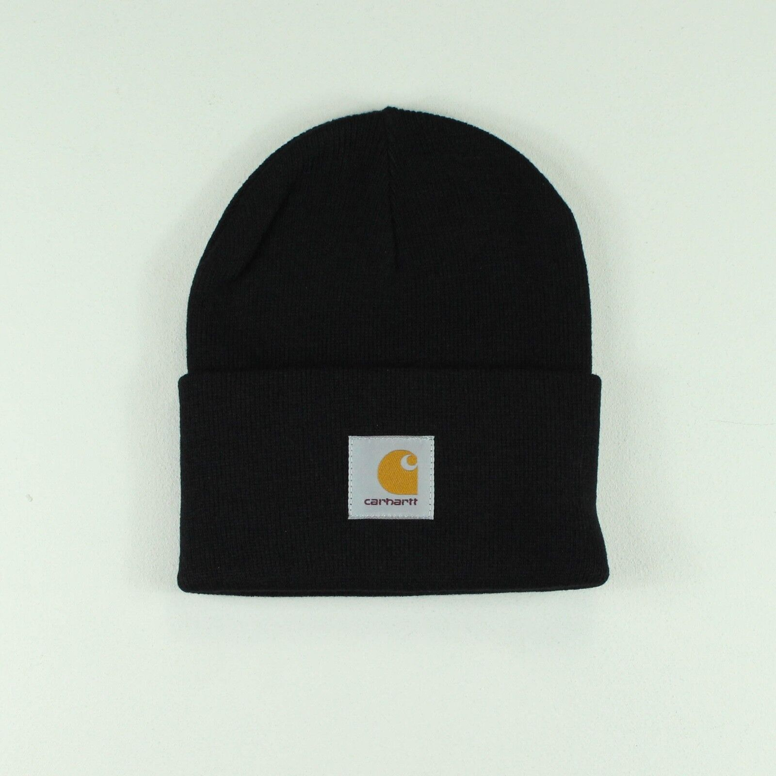 08d30f9ac9abd Details about Carhartt Acrylic Watch Hat Beanie Brand New in One Size in  Black
