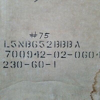 Bristol Compressor L5nb652bbba 230-60-1 6500 Btu Compressor