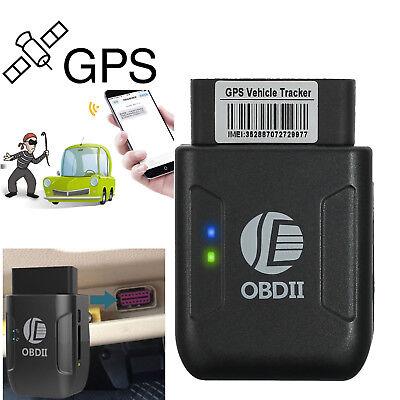 Mini Gps Obd2 Obd Ii Car Tracker Vehicle Truck Realtime Tracking Device Gsm Gprs