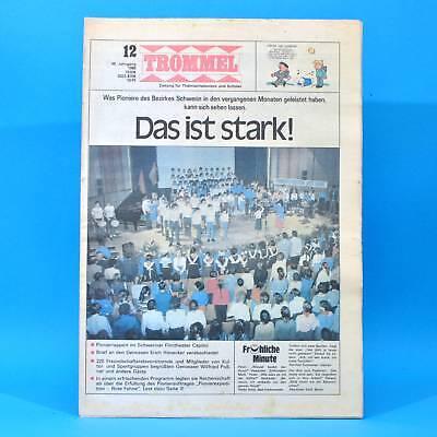 Trommel 12/1986 DDR-Zeitschrift NO 55 Warthe Schwerin Kyffhäuser Meteorologie
