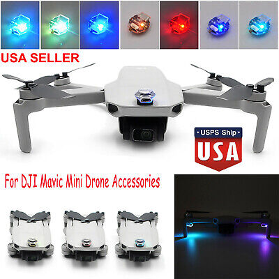 For DJI Mavic Mini Drone LED Strobe Lamp Flash Navigation Light Kit Recharge USA