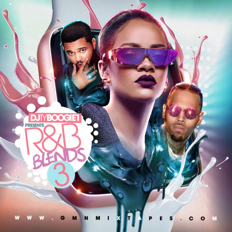 Dj Ty Boogie - R&b Blends Pt. 3 (mix Cd) R&b Blends/ Remixes