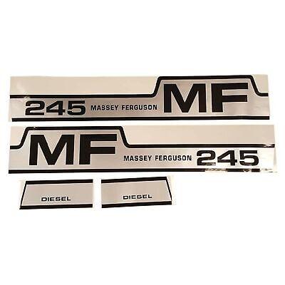 Decal Set For Massey Ferguson 245