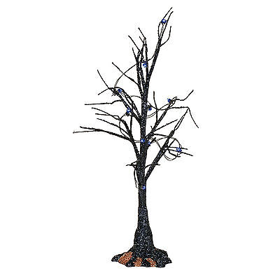 Dept 56 Halloween 2017 Black Light Bare Branch Tree #4057623 NIB FREE SHIP 48 ST](Black Tree Branches Halloween)