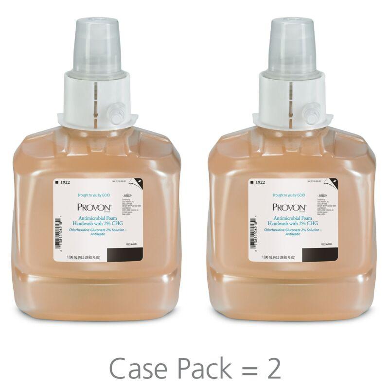 PROVON Antimicrobial Foam Handwash with 2% CHG LTX-12 1200mL 2436873