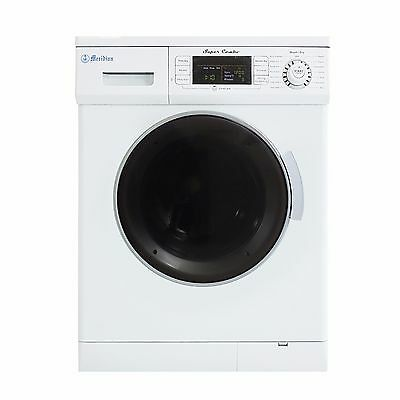 All-in-One 1.6 cu. ft. Snug Combo Washer and Electric Dryer with Optional Con