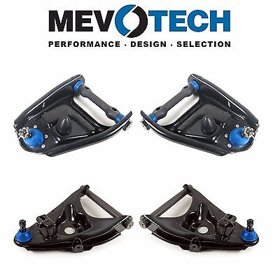 For Chevy G30 75-95 Front Lower & Upper Control Arms & Ball Joints Kit Mevotech