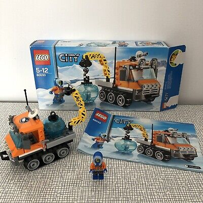 Lego City Arctic Ice Crawler 60033 100% Complete Boxed In Excellent Cond. 5-12Y