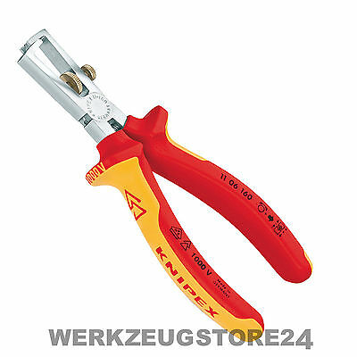 Knipex 11 06 160 mm VDE Abisolierzange 1106160 Isolierzange ,  Absetzzange