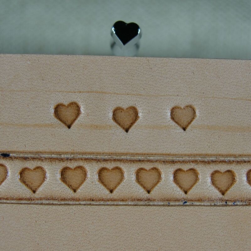 Japan Select - #O52 Small Heart Stamp (Leather Stamping Tool)