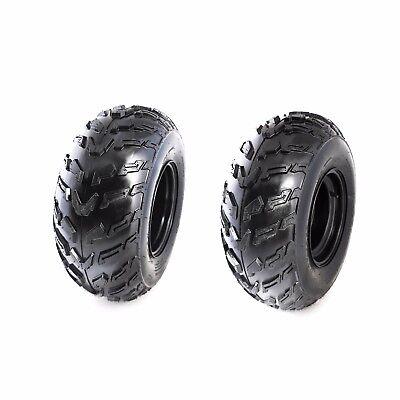 "2X 22X10- 10"" Wheel Rim+ Tyre Tire Quad Dirt Bike Off Road ATV Buggy Gokart US"