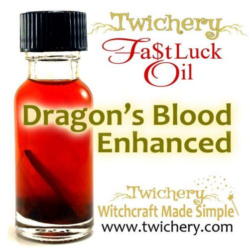 GOOD LUCK OIL, FAST LUCK, Love Money Luck Spell Magic Handmade FROM TWICHERY