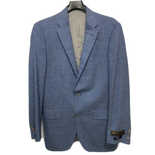 CREMIEUX Mens On The Move Sport Coat Jacket 42 42L Blue Blazer Clothing, Shoes & Accessories