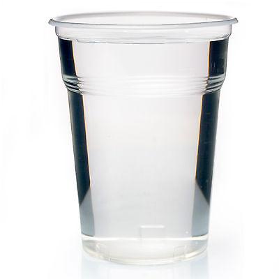 Ausschankbecher Bierbecher 500 ml Plastikbecher 0,5 Einwegbecher 100 PP Becher  ()