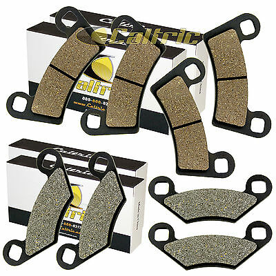 FRONT and REAR BRAKE PADS FIT POLARIS RZR 800 EFI 2008 2014
