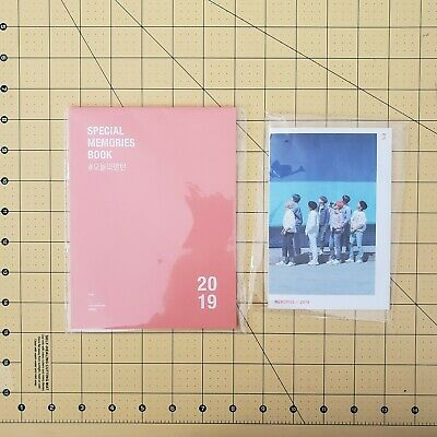 Official BTS Memories Of 2019 Special Memories Book + Mini Folding Image Booklet